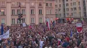 Thousands Take to the Streets to Protest Poland's Supreme Court Reforms [Video]