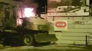 Excavator Burned in Nantes as Clashes Over Fatal Traffic-Stop Shooting Continue [Video]