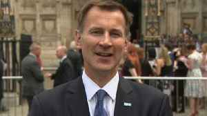 Hunt: 'We need even more' people in the NHS [Video]