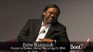 Blockchain Will Be Fast Enough To Manage Digital Ads: IBM's Rangaiah [Video]