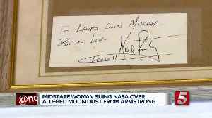 Tennessee Woman's Moon Dust Lawsuit Moving Forward [Video]
