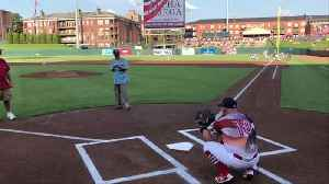 Watch 104-Year-Old WWII Vet Throw Out First Pitch at Baseball Game [Video]