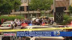 Capital Gazette Shooting: Journalists To Observe Moment Of Silence [Video]