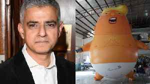 Huge Trump Baby Balloon Gets Mayor's Approval To Fly In London [Video]