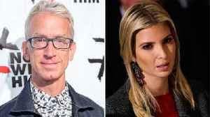 News video: Ivanka Trump's Leg Groped by Andy Dick in Old 'Jimmy Kimmel' Video [Watch] | THR News