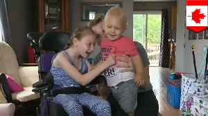 9-year-old girl with cerebral palsy saves baby brother from drowning [Video]