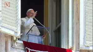 Pope Francis Says Climate Change Is Threatening To Turn Earth Into Rubble [Video]