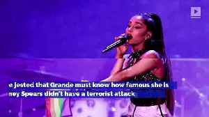 Ariana Grande Defends Pete Davidson's Controversial Joke About Manchester Attack [Video]