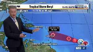 Tropical Depression Two becomes Tropical Storm Beryl [Video]