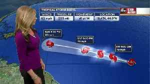Tropical Storm Beryl forms in the Atlantic [Video]