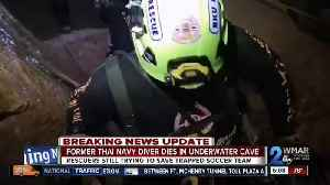 Thai cave rescue: Former Navy diver dies while exiting flooded tunnels [Video]