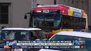 Baltimore Link fails to deliver on promises [Video]