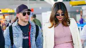 Priyanka Chopra and Nick Jonas Are Wearing Matching Gold Rings [Video]