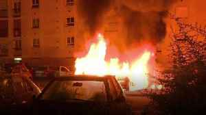 Cars set ablaze in Nantes clashes [Video]