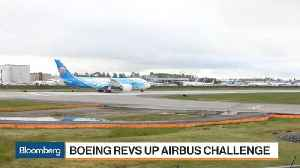 Boeing to Form a $4.75B Venture With Embraer [Video]