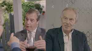 To Brexit or not to Brexit: uncut interviews with Tony Blair and Nigel Farage [Video]