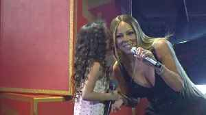 Mariah Carey's Return to Las Vegas Was a Total Family Affair -- Watch! [Video]