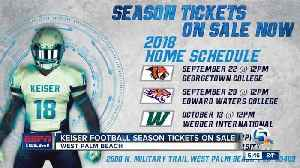 News video: Keiser Season Tickets Go On Sale