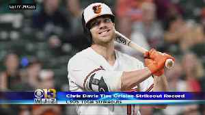 Chris Davis Ties Cal Ripken Jr. For Most Strikeouts In Orioles History [Video]