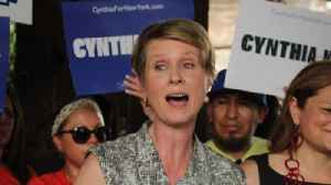 Cynthia Nixon Calls Out Mike Pence Over ICE Comments [Video]