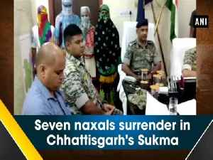 Seven naxals surrender in Chhattisgarh's Sukma [Video]
