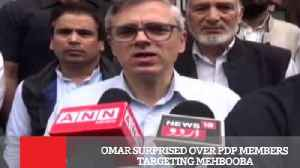 Omar Surprised Over Pdp Members Targeting Mehbooba [Video]