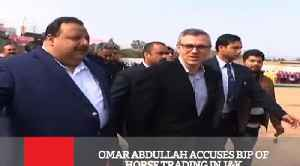 Omar Abdullah Accuses BJP Of Horse Trading In J&K [Video]