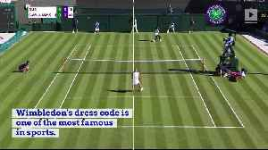 Why do Tennis Players Have to Dress in White at Wimbledon? [Video]