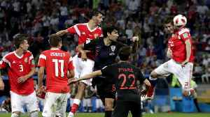 News video: England, Croatia advance to World Cup semifinals