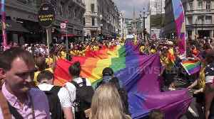 News video: Thousands descend on London for annual LGBT Pride parade