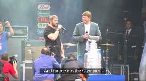 NHL star Ovechkin brings Stanley Cup to Moscow [Video]