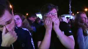 News video: Tearful Russians exhale after World Cup loss