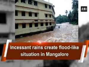 Incessant rains create flood-like situation in Mangalore [Video]