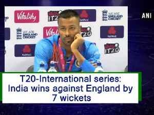 T20-International series: India wins against England by 7 wickets [Video]