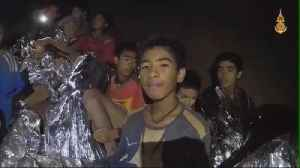 First boys rescued from Thai cave [Video]