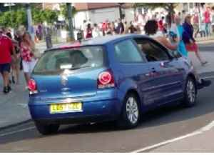 England Fan Run Over After Falling Off Moving Car in Folkestone [Video]