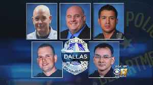 Memorial Events Mark 2-Year Anniversary Of 5 Dallas Officers Killed In Ambush [Video]