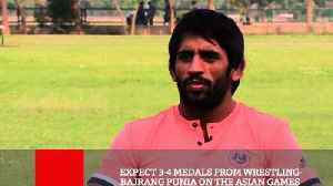 Expect 3-4 Medals From Wrestling- Bajrang Punia On The Asian Games [Video]