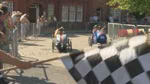 Racers battle it out in Pedal Car grand prix [Video]
