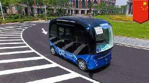 Self-driving buses to become a reality in China [Video]