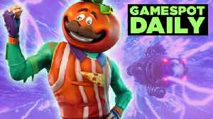 News video: Fortnite Season 5 Teasers Are Getting Really Weird - GameSpot Daily