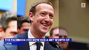 Mark Zuckerberg Is the Third-Richest Person Alive [Video]