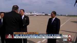 U.S. Secretary of State meets with North Korea leaders [Video]