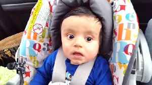 Wide Eyed Baby Boy Rides Through The Tunnels [Video]