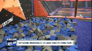Sky Zone offers new attractions, like free climb wall [Video]