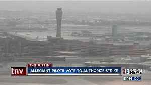 Allegiant Air pilots vote to authorize strike [Video]