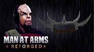 Sword of Kahless - Star Trek - MAN AT ARMS: REFORGED [Video]