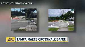 Community group gets crosswalk fixed near Chiaramonte Elementary School [Video]