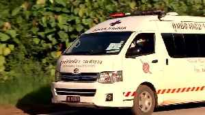 News video: 8 boys rescued from Thailand cave as divers work to retrieve final 4 boys and coach