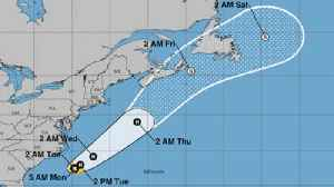 Tropical Storm Chris aims for Canada [Video]